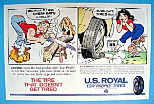Vintage Ad: 1961 U. S. Royal Tires (Image1)