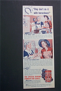 1941 Royal Baking Powder