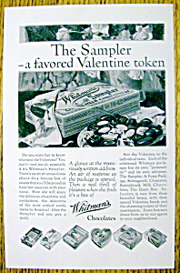 1927 Whitman's Chocolates
