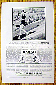 1929 Hawaii Tourist Bureau (Image1)