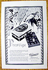 1929 Whitman's Prestige Chocolates