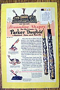 1929 Parker Duofold Pens & Pencils (Image1)