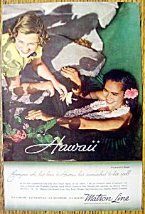 1935 Matson Lines (Hawaii) (Image1)