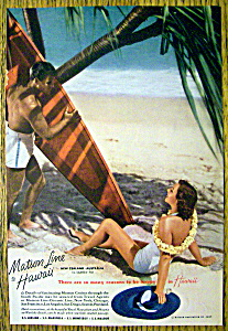 1937 Matson Line to Hawaii (Image1)