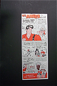 1941  Cream  of  Wheat  Cereal  with  Lil'  Abner (Image1)