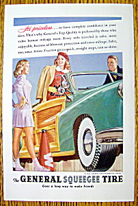1947 General Squeegee Tire with Woman in a Car Talking (Image1)