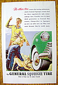 1947 General Squeegee Tire with Boy & Girl Watching Dog (Image1)