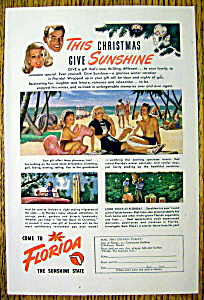 1947 Come to Florida (The Sunshine State) with Family (Image1)