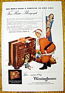 1947 Westinghouse Radio-phonograph