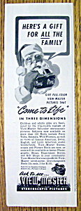 1947 View-Master with Santa Claus (Image1)