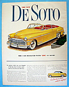1949 De Soto with Lovely Yellow De Soto (Image1)