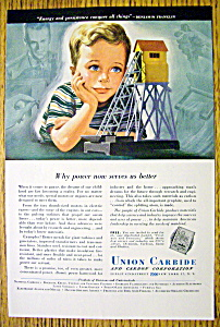 Vintage Ad: 1948 Union Carbide & Carbon Corporation (Image1)