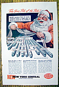 1949 New York Central System with Santa Claus (Image1)