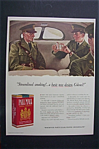 1941 Pall Mall Cigarettes w/ 2 Soldiers By John Falter (Image1)