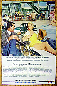 1957 American Export Lines with Cary Grant/Deborah Kerr (Image1)