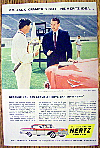 1958 Hertz Rent a Car with Jack Kramer (Image1)