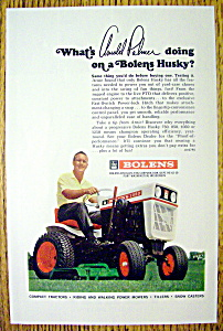 1967 Bolens Husky Lawn Mower With Arnold Palmer
