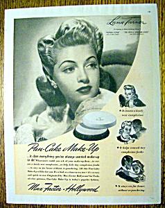 1941 Max Factor Pan Cake Make Up with Lana Turner (Image1)