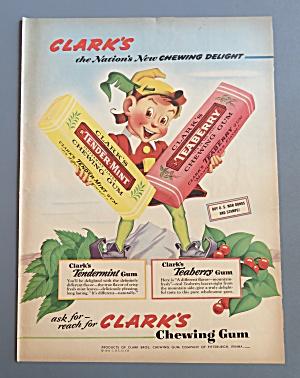 1943 Clark's Chewing Gum (Image1)