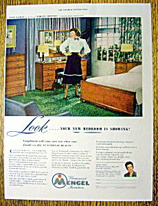 1948 Mengel Furniture With Jane Wyman
