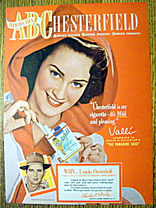 1948 Chesterfield Cigarettes with Valli (Image1)