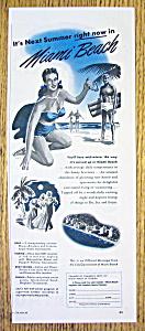 Vintage Ad: 1949 Miami Beach (Image1)