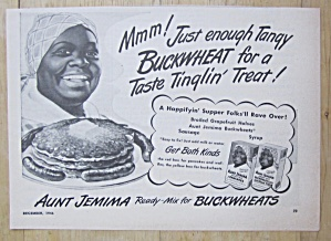 1946 Aunt Jemima Ready Mix with Aunt Jemima (Image1)