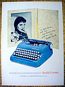 1958 Smith Corona Typewriter With Natalie Wood