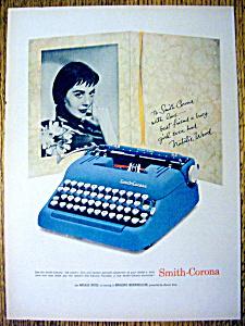 1958 Smith Corona Typewriter with Natalie Wood (Image1)