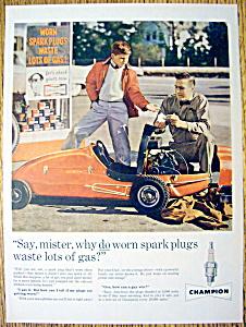 Vintage Ad: 1960 Champion Spark Plugs (Image1)