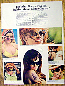 1968 Foster Grants Sun Glasses with Raquel Welch (Image1)