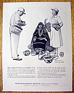 1961 Massachusetts Mutual Life Ins by Norman Rockwell (Image1)
