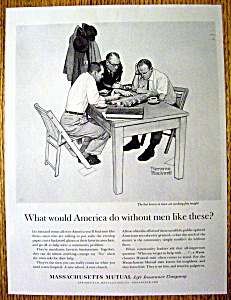 1962 Norman Rockwell Massachusetts Mutual Life (Image1)