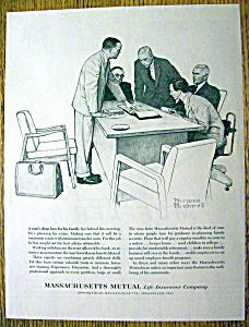 1962 Massachusetts Mutual By Norman Rockwell (Image1)