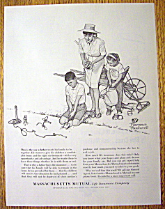 1962 Massachusetts Mutual Life By Norman Rockwell (Image1)