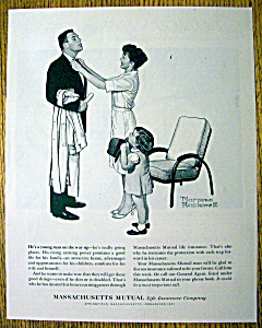 1963 Massachusetts Mutual Life Ins by Norman Rockwell (Image1)