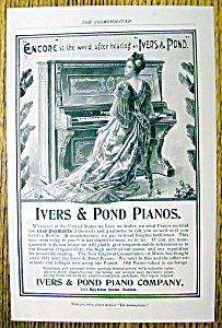 Vintage Ad: 1899 Ivers & Pond Piano