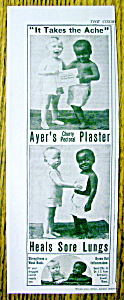 Vintage Ad: 1899 Ayer's Cherry Pectoral Plaster (Image1)