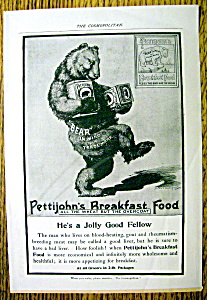 Vintage Ad: 1899 Pettijohn's Breakfast Food (Image1)