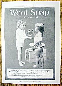 Vintage Ad: 1899 Wool Soap (Image1)