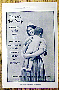 Vintage Ad: 1901 Packer's Tar Soap