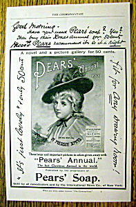 Vintage Ad: 1901 Pear's Soap