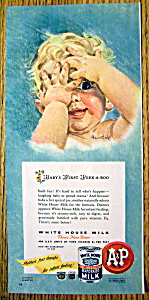 Vintage Ad: 1947 White House Evaporated Milk