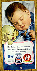 1949 White House Evaporated Milk (Image1)