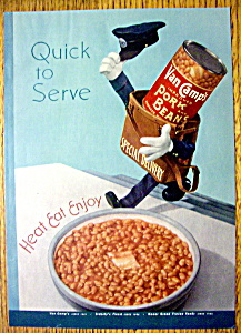 1949 Van Camp's Pork & Beans (Image1)
