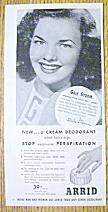 1945 Arrid Deodorant With Gale Storm