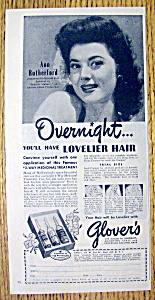 1945 Glover Shampoo with Ann Rutherford (Image1)