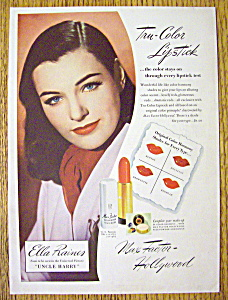 1945 Max Factor Lipstick with Ella Raines (Image1)