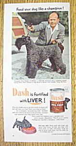 1952 Dash Dog Food with Handler Doug McClain (Image1)