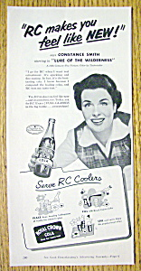 1952 Royal Crown Cola (Rc Cola) With Constance Smith